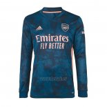 Camiseta Arsenal Tercera Manga Larga 2020-2021