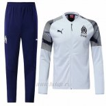 Chandal del Olympique Marsella N98 2019-2020 Blanco
