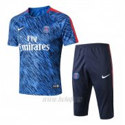 Chandal del Paris Saint-Germain Manga Corta 2017-2018 Azul