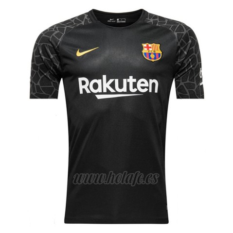 Comprar Camiseta Barcelona Portero 2017-2018 Negro 216fd05171c37