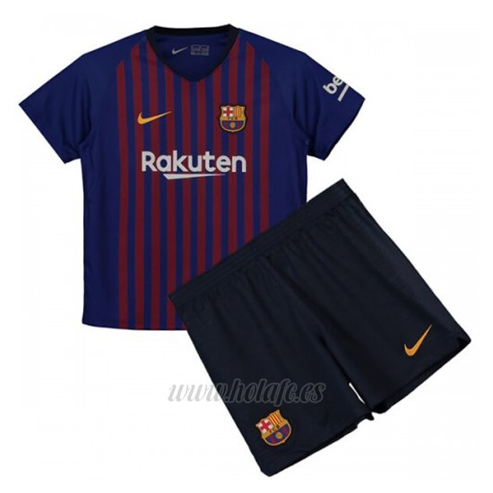 1bb79c57f Comprar Camiseta Barcelona Primera Nino 2018-2019