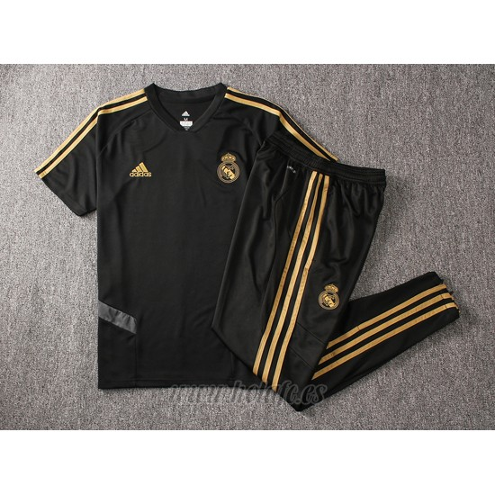 Chandal del Real Madrid Manga Corta 2019-2020 Negro
