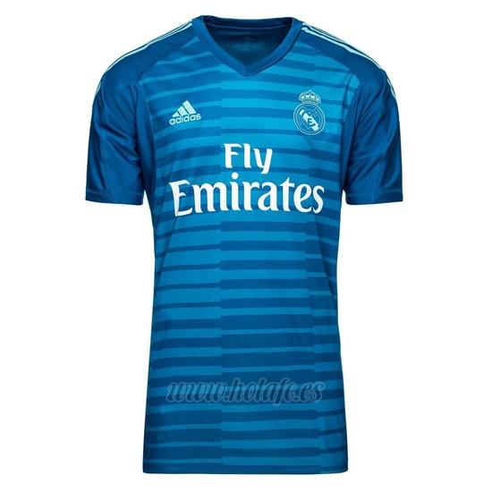 Comprar Tailandia Camiseta Real Madrid Portero Segunda 2018-2019 2fe11ba518c26