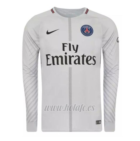 Comprar Camiseta Paris Saint-Germain Portero Manga Larga 2017-2018 Gris ff1f43b52d41f