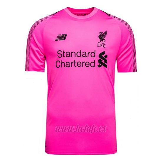 Comprar Tailandia Camiseta Liverpool Portero 2018-2019 Rosa efb360cd4a44c