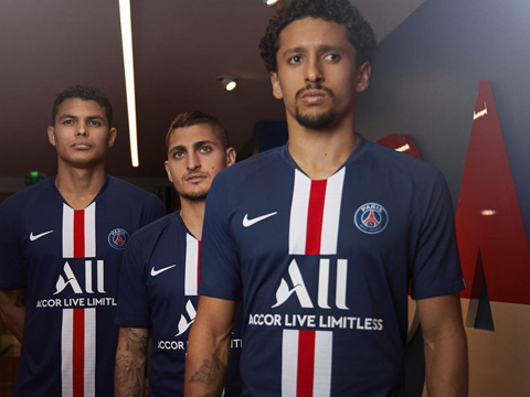 Camiseta de futbol Paris Saint-Germain barata