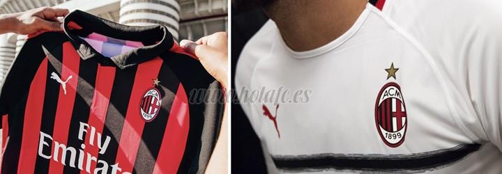 camiseta de futbol AC Milan barata