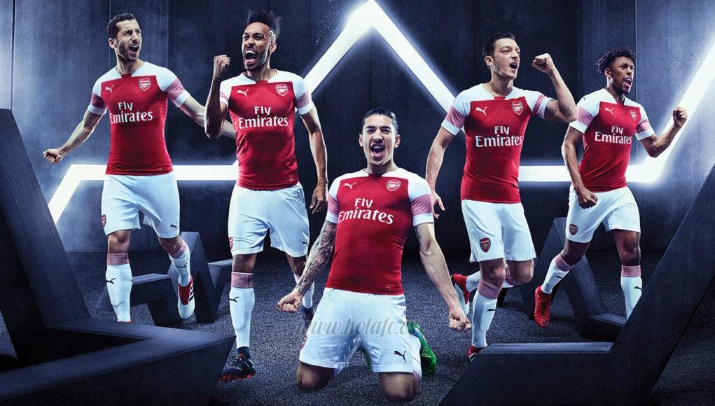 camiseta de futbol Arsenal barata