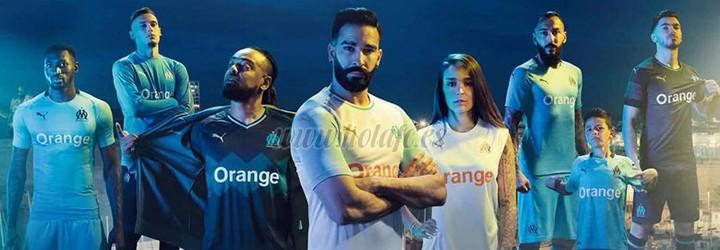 camiseta de futbol Olympique Marsella barata